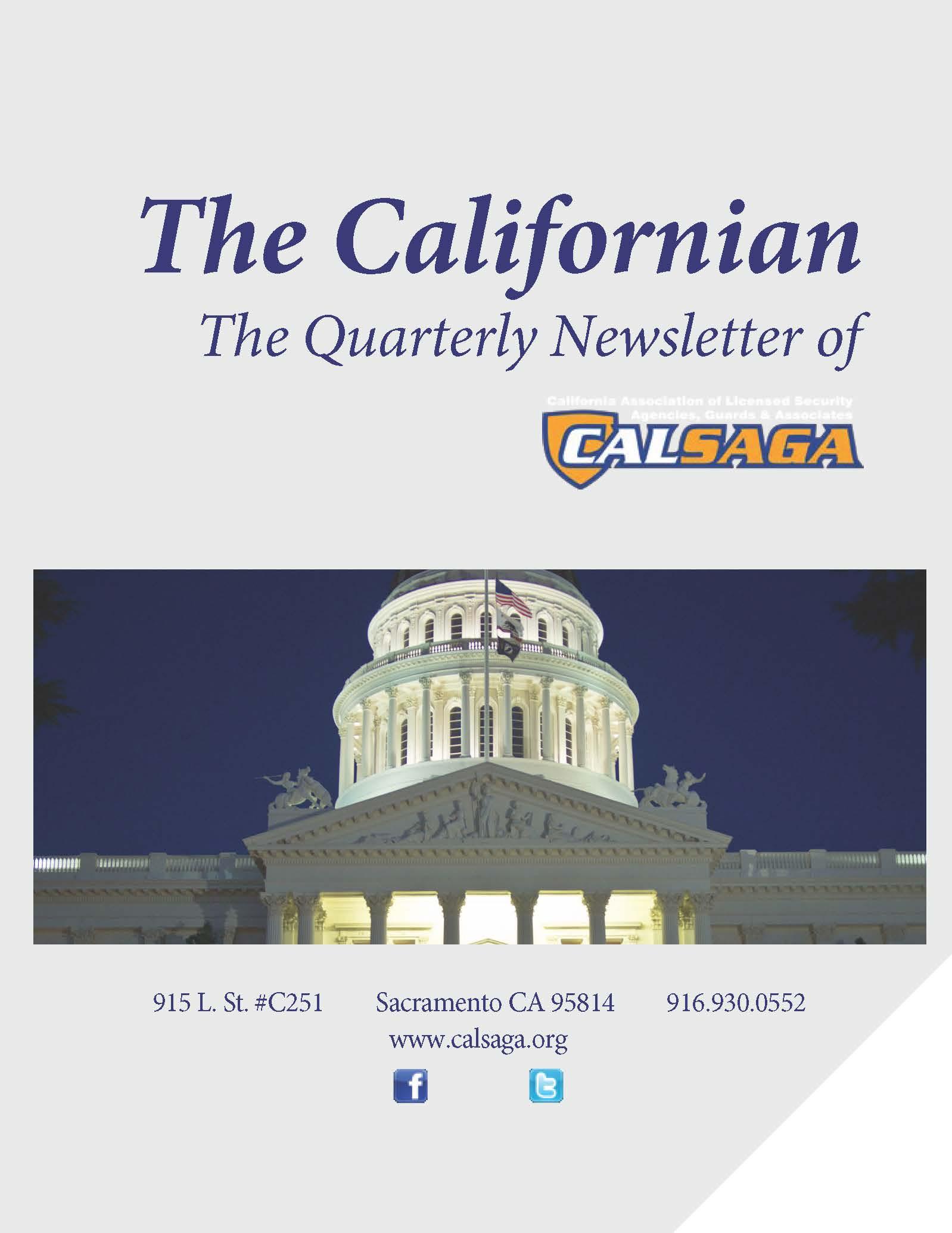 calsaga california association of licensed security agencies rh calsaga org